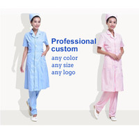 Wholesale Beauty Salon Wear - Hot selling nurse clothes Brand Antistatic beauty salon work clothes Spring and winter Ladies breathable overalls