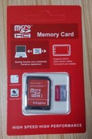 Wholesale Real 64gb Microsd Card - 100% Real Genuine Full Capacity 2GB 4GB 8GB 16GB 32GB 64GB 128GB SDHC Class 10 MicroSD TF Memory SD Card With SD Adapter Retail Package 12