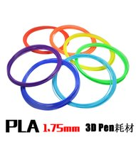 Wholesale 2016 mm Modeling Stereoscopic PLA Print Filament For D Drawing Printer Pen applied to a variety of D printers E232J