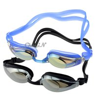Wholesale Uv Shield Swimming Goggles - Jiejia Swimming Goggles Uv Shield Waterproof Anti Fog Swim Glass Glasses Silicone For Adult Sports Eyewear 0.3-YJ007 order<$15 no tracking