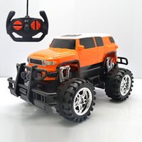 Wholesale Hub Channel - 1:18 Electric 4 Channels Remote Control SUV RC Car 4CH High Speed RC Racing Bigfoot Buggy Car Machine Toy Car Toy For Boy