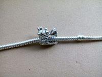 Wholesale Pendant Dragon Silver 925 - 925 sliver Leading European dragon Fire kirin big hole bead Charm Fashion classic Fits European Pandora DIY BeadS Bracelets necklace pendant