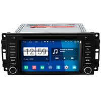Wholesale Dvd Car Screen Din - Winca S160 Android 4.4 System Car DVD GPS Headunit Sat Nav for Jeep Grand Cherokee Wrangler Unlimited Commander Compass Liberty
