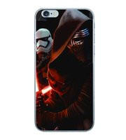Star Wars TPU Housses Pour Iphone 6 6S Plus 4.7 5.5 I6 Samsung Galaxy Gel S7 Bord Silicone Sky Hero Superman Cell Phone 20pcs Cover Skin