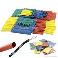 Wholesale High Power Amplifier Kits - 260pcs 8 Sizes Assortment Heat Shrink Tubing 1.0mm 2.0mm,3.0mm 4.0mm 6.0mm 8.0mm 10.mm 13.0mm Sleeving Wrap Wire Cable Kit A5