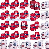 Wholesale New Holland Stopping - 17-18 New Montreal Canadiens Custom Jersey Men's #13 Peter Holland 21 David Schlemko 22 Karl Alzner 42 Byron Froese 45 Morrow Jerseys