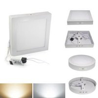 Wholesale Modern Ceiling Lamp Price - High Quality Wall Ceiling Down Lights With Low Price New Brand 18W Square LED Surface Panel Wall Mounted Lamps