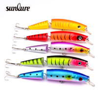 Wholesale Design Lure - New Design jointed minnow Fishing Lures Exported to USA Market Fishing Tackle 5 Color 14.2cm 20.4g Fishing Bait DW-1225
