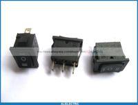 Wholesale Kcd1 Rocker Switch - 30 Pcs Rocker Switch KCD1 on Off on Black 3pin 6A 10A