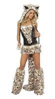 Wholesale Sexy Animal Costume Furry - Wholesale Sexy Wolf Costume Animal , Furry , Sexy Halloween Costumes Ennanna BS792
