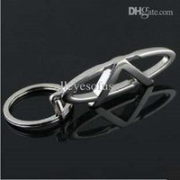Wholesale Free Shipping Chery Cars - Wholesale-high quality 3d Chery car logo keychain novelty items promotional llaveros key holder free shipping wholesale