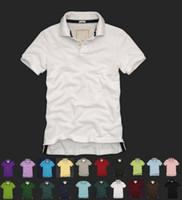 Wholesale Browning Deer Shirt - HOT SALE Men's 100% Cotton Short Sleeve Polo Shirt T-shirt New Deer pattern