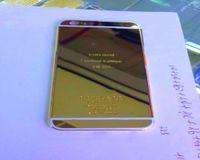 edición de oro del iphone 24ct al por mayor-Envío gratis 24ct chapado en oro de nuevo para iphone6s para iphone 7 carcasas 24kt 24ct edición limitada dorada cubierta trasera Carcasa trasera para goldco