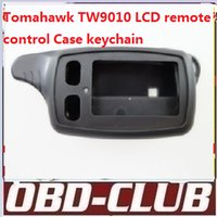 Wholesale Demo Case - 2016 Newest Tomahawk TW9010 LCD remote control Case keychain for Two way car alarm system Free shipping