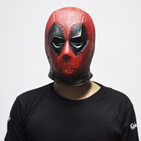 Marvel Deadpool Masken Halloween Cosplay Requisiten Superheld Film Latex Maske Sammeln Spielzeug
