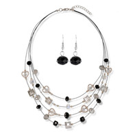 Wholesale Outdoor Rattan Furniture China - Rattan Outdoor Furniture Real Mueble De Exterior Wicker Furniture Necklace Earring Sets 2015 Summer New Bohemian Jewelry Wild Fresh Chain