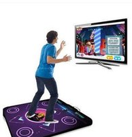 dance mat pc game al por mayor-Al por mayor-antideslizante danza alfombra Pad pad Pad Box 9 Juegos USB para PC TV Super Dance juego Dance Pads