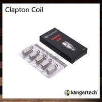ingrosso bobina di clapton sottile kanger-Kanger Clapton Bobine 0,5ohm SSOCC SUS SS316L Bobine Sostituire Clapton Bobina Testa per Subvod Kit Subtank Mini 100% Originale