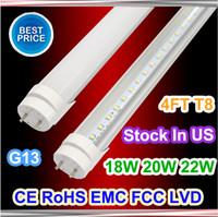 Wholesale T8 Tube Cheap - in usa 4ft led tube cheap price 18W 20W 22W led tubes light t8 4feet led tubes AC85-265V for office