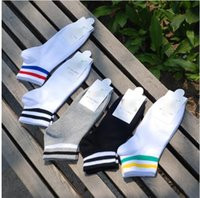 Wholesale Cheap Men S Socks Wholesale - 2017 Cotton Natural Men Cotton Material Short Sock Ankle Man and Women Cotton Socks Comfortable Wear Socks Brand Quality Sock Cheap S