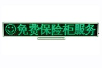 Green SMD LED scrolling sign display board board desk panel publicitário / programável recarregável led mini display board