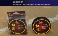 Wholesale fishing line High Quality Nylon lineTransparent Fluorocarbon Fishing Lines by china post m