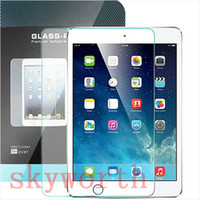 Wholesale Ipad3 Screen Protector Retail - Premium Tempered Glass Screen Protector for iPad Pro 9.7 12.9 Mini ipad 2 3 4 5 6 air 2 Retail Package