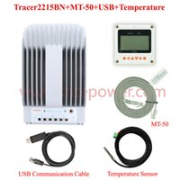 Wholesale mppt lcd - mppt solar charge controller, 12v 24v 20amp tracer2215bn solar controller with lcd display