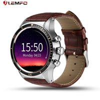 LEMFO Y3 Android Smart Watch avec Sim Slot Bluetooth Connectivité pour Android Téléphone Smartwatch Wifi GPS Intelligent Montre-Bracelet