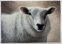 Wholesale Sheep Wall Decor - Free Shipping Sheep, Decoration Oil Painting for Wall Decor H-0796