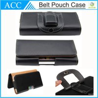 Wholesale Galaxy S3 Clip - PU Leather Clip Belt Pouch Wallet Case For iPhone 6 Plus 5S Galaxy S3 S4 S5 Note3 4 Cellphone Bag Pouch 100pcs