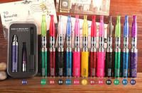 mega caneta venda por atacado-Ego original ii mega kit cigarro eletrônico gs ego bateria 2200 mah dual bobinas gs H2s atomizador várias cores vape pen vaporizador kit