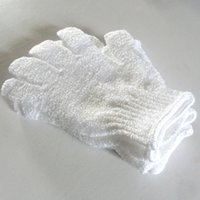 Wholesale Wholesale Bath Gloves - Shower Exfoliating Foam Bath Shower Gloves Massage Loofah Scrubber