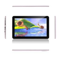 Wholesale Irulu Android Tablets - IRULU 10 inch Quad Core Android 4.4 Tablet PC 1.3GHZ MTK8127 1024*600 Dual Camera Tablets 1GB 16GB GPS Bluetooth Wifi