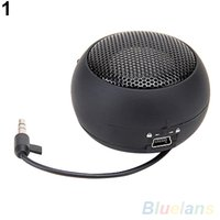 Amplificador Mini altavoz portable de la hamburguesa para iPod iPad iPhone Laptop Tablet PC 1UNI