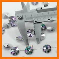 Cross blue cross express - one hole Size mm multi colors octagon Crystal bead quantity piece one bag by express color3
