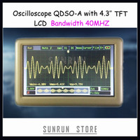 Wholesale Newest Pocket Sized Sampling Rate MS S Bandwidth MHz Digital Oscilloscope QDSO A quot TFT LCD Better than DSO201 DSO203