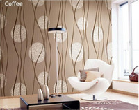 Wholesale European Simple Circle Strip D PVC Waterproof Embossed Wallpaper Home Decor Vinyl Mural Wallpaper For TV Background Living Room
