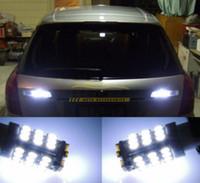 Wholesale Led Backup Bulbs - 20Pcs Lot Car Xenon White 6000K T10 921 42-SMD 1206 LED Backup Reverse Light Bulbs free shipping