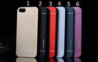nota3 cubre al por mayor-Lujo Ultra delgado MOTOMO Metal Aleación de Aluminio Caja Dura Cubierta Dura para iPhone 6 6s 6 más 5 5s Samsung s6 Edge Plus S5 Note5 Note4 Note3