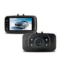 Wholesale lcd camera hdmi online - Hot P inch LCD Car DVR Vehicle Camera Video Recorder Dash Cam G sensor HDMI GS8000L Car recorder DVR