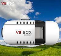 Wholesale google vr online - MOQ Head Mount VR BOX Version VR Glasses Virtual Reality Glasses Rift Google Cardboard D Movie for quot