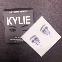 9 colori Kylie Cosmetics Jenner Kyshadow Kit Eyeshadow Palette Bronzo Long lasting Collezione Kylie Fall The <b>Purple Matte</b> Eye Shadow