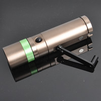 Wholesale Hike Hunting Light New Products Zoom Rechargeable LED Manual Electricity Generation Dynamo Flashlight Waterproof LED Flashlights for Tents