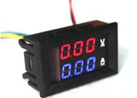 Wholesale digital voltmeter dc power supply for sale - Group buy 100V A Digital DC4 V V Voltmeter Current Voltage Meters Led tester Charger ammeter battery power supply capacity detection
