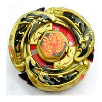 Wholesale Beyblade Metal Fusion Arena - Beyblade Metal Fusion 4D Kreisel Beyblade Metall Fusion Arena L-Drago Gold DEIO5LRF Bayblade Metal Spin Top Toy 12 styles to choose