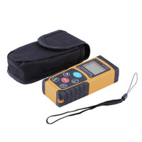 Wholesale Mini Laser Meter - 100m Mini Digital Laser Distance Meter Range Finder Measure Diastimeter Drop Shipping Wholesale 2016