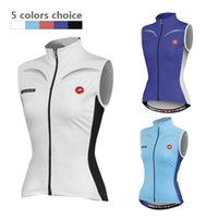 Wholesale Woman Vest Xs Grey - 2015 summer WOMEN Cycling Clothing Sleeveless jersey Mountain riding sportswear Jersey Cycling vest Bike Jersey maillot Ciclismo