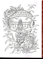 Wholesale Traditional Chinese Tattoo Flash - Wholesale-PDF Format Tattoo book traditional tattoo 73 pgs Chinese ghost fairy tale skull Tattoo Flash Tattoo Designs Sketch Free Shipping
