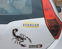 Wholesale Graphic Film Carbon Fiber - Hot sale 10X Scorpion Scratches Car Cover Sticker Vinyl Car Laptop Graphics Decal Decor